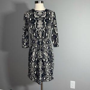 New with tags! J. Mclaughlin snakeskin print dress